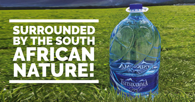 SMI: immersed in South Africa. His Ergon system chosen by Tsitsikamma Crystal Spring Water