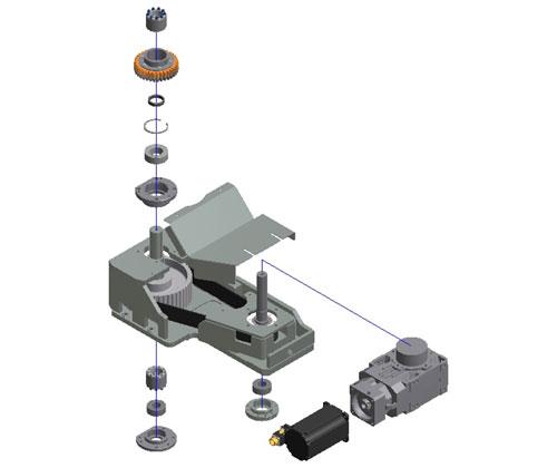 ZF010026 - Atualização na transmissão do motor principal do carrossel