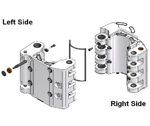 ZF010098 - Kit de substituição do Suporte do molde