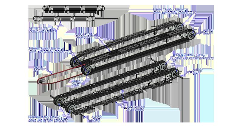 MT500057 - Antigo kit de revisão geral para encaixotadora da série WP