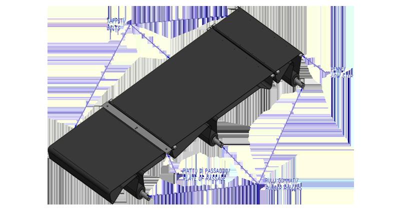 MT500059 - Kit de revisão para máquina com 3 correias