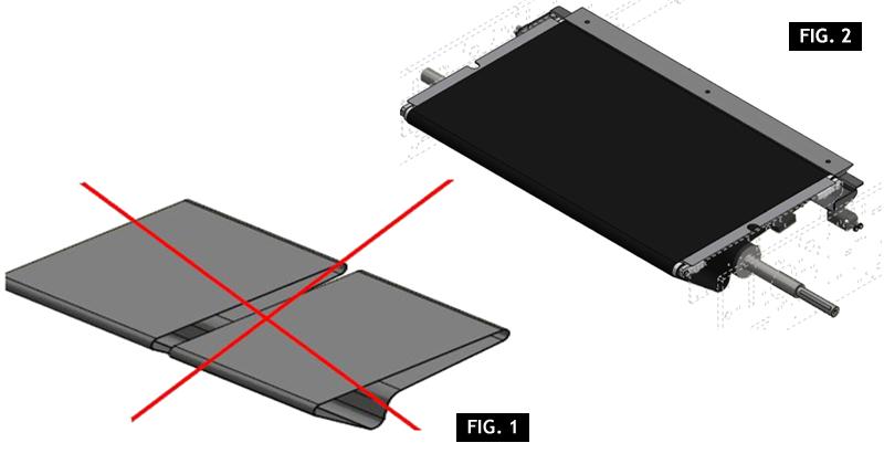 ZF010119 - Substituição da correia dupla de encapsulamento com única correa
