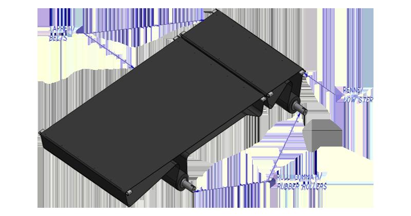 MT500058 - Kit de revisão para máquina com 2 correias