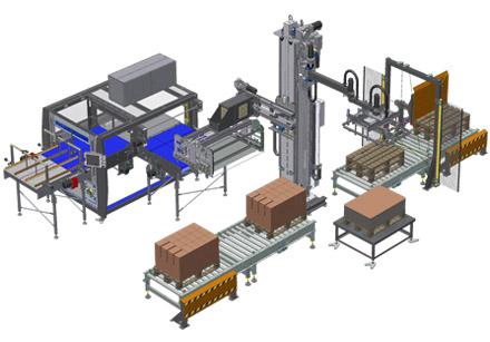 Sistemas automáticos de paletização