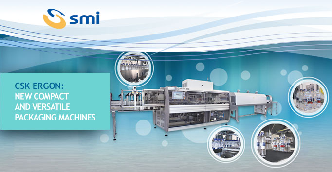 CSK ERGON: new compact and versatile packaging machines